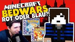 DER MANN MIT DER MASKE & POKEMON: BLAU ODER ROT?!✪ Minecraft Bedwars Woche Tag 37 mit GermanLetsPlay