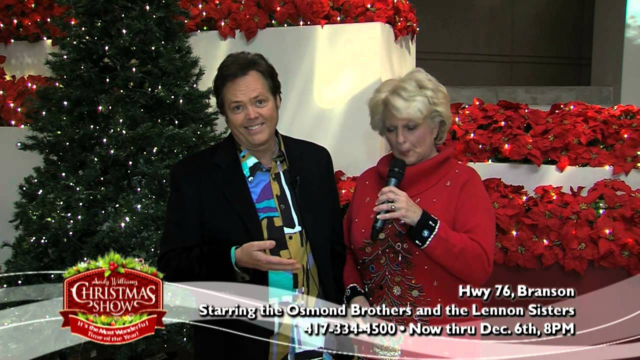 2014 andy williams theatre christmas show branson mo - Andy Williams Christmas Show