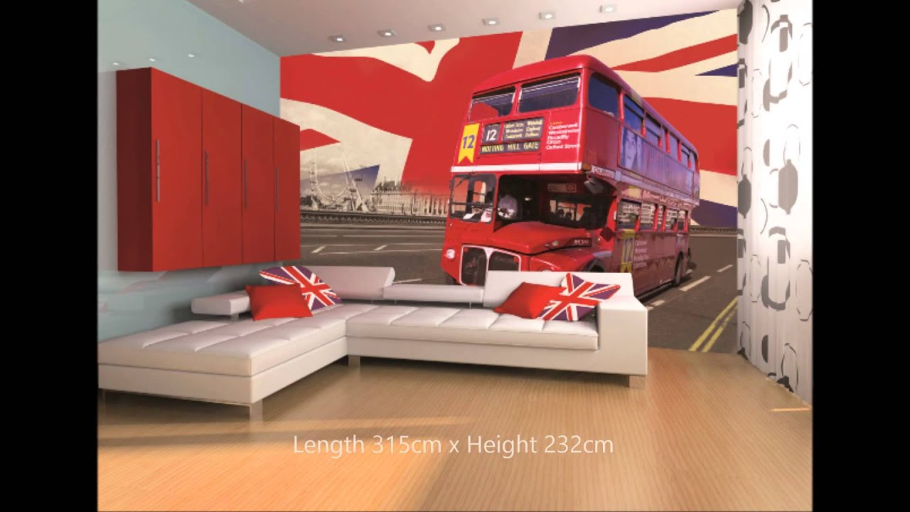 London bus wall mural video wesellwallmurals youtube london bus wall mural video wesellwallmurals amipublicfo Choice Image