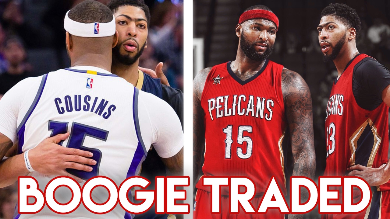DEMARCUS COUSINS TRADED TO NEW ORLEANS PELICANS! Anthony Davis   Boogie  Team Up 9138cd3de