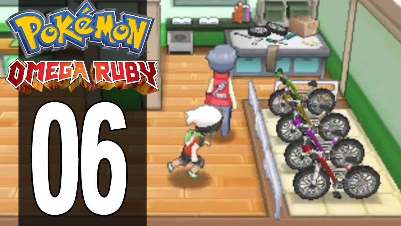 Pokemon Omega Ruby Part 6 Mach Bike Gameplay Walkthrough