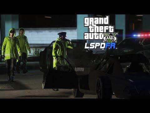 GTA V  - LSPDFR  - Los Santos Police Department  - EUP Raincoats 0.4.2