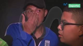 Alianza Lima campeón 2017: Rinaldo Cruzado se rompió ante palabras de su menor hijo