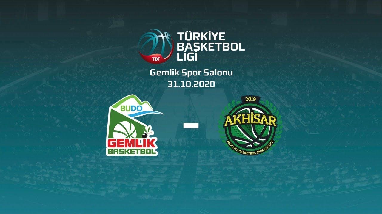 Budo Gemlik – Akhisar Belediye Basketbol TBL 3.Hafta