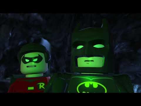 LEGO Batman 2 DC Super Heroes Walkthrough - Part 5 - Unwelcome Guests (Wii U, Xbox 360, PS3)