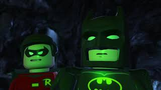 LEGO Batman 2 DC Super Heroes Walkthrough - Part 5 - Unwelcome Guests (Wii U, Xbox 360, PS3)