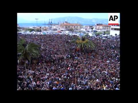 ALBANIA: ITALIAN PRIME MINISTER ROMANO PRODI VISIT