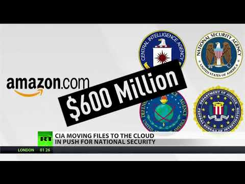 Amazon Secures $600 Million Deal With U.S. Intelligence Agencies