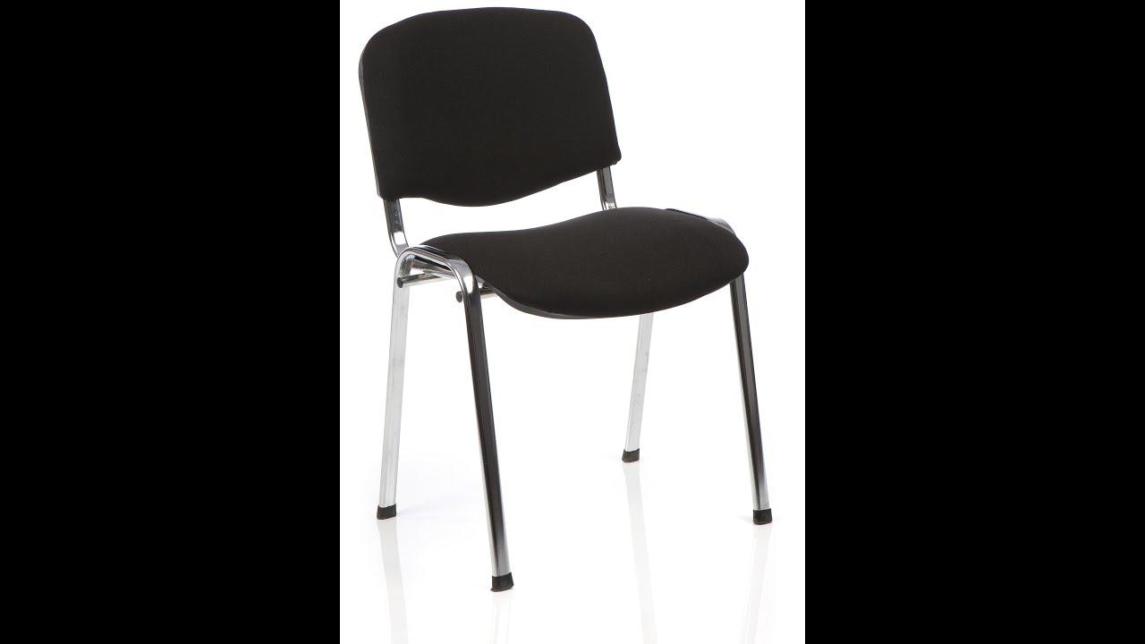 Очень мягкая модель стула для работы за компьютером. Изделие с декоративными накладками на подлокотниках располагается на хромированной крестовине.