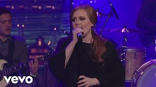 adele rolling in the deep live on letterman
