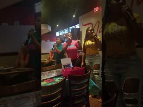 TMDC Karaoke Night Nancy G's Pizza 7/11/17