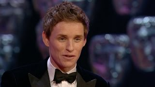Eddie Redmayne wins Leading Actor BAFTA - The British Academy Film Awards 2015 - BBC One