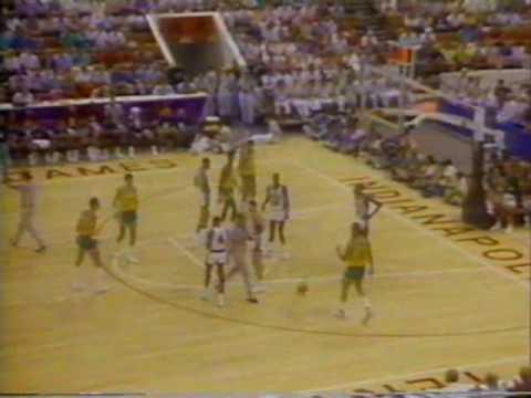 Brasil x EUA - Basquete - Final do Pan 1987 - NA ÍNTEGRA - PARTE 07