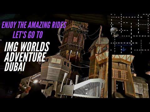IMG world's Adventure Dubai tour