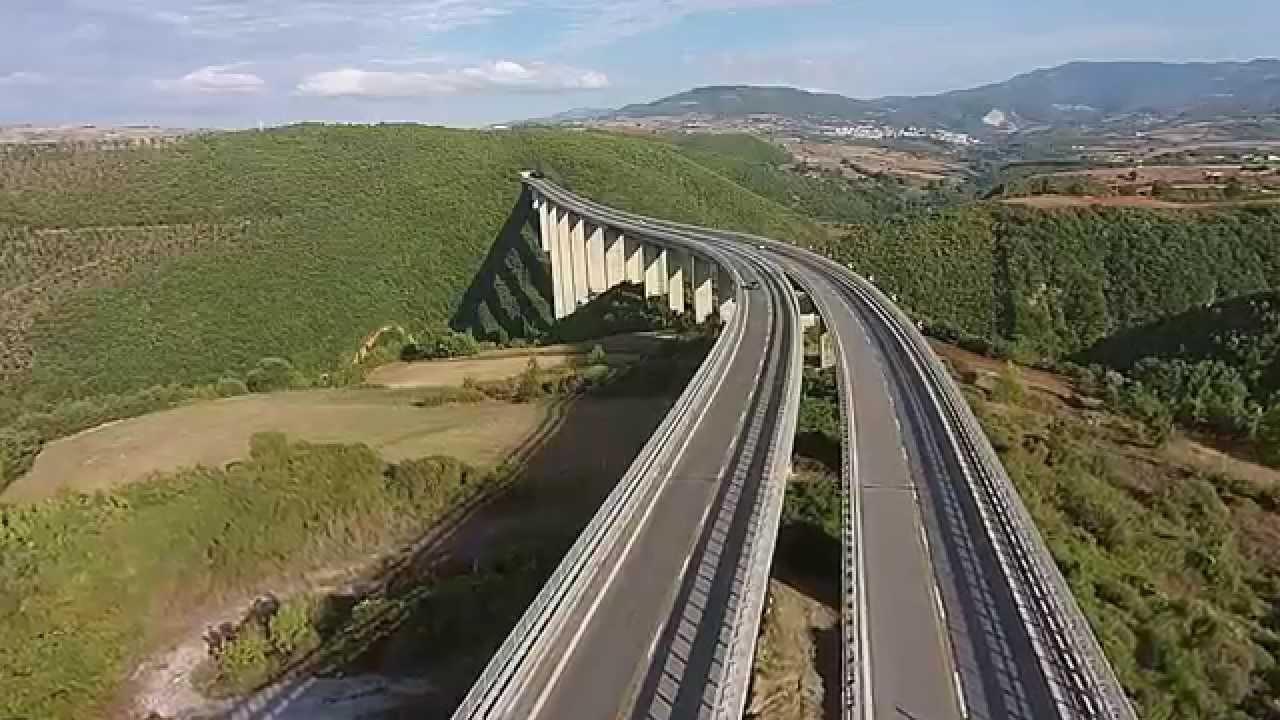 Ponte Di Picerno Raccordo Sicignano Potenza Youtube