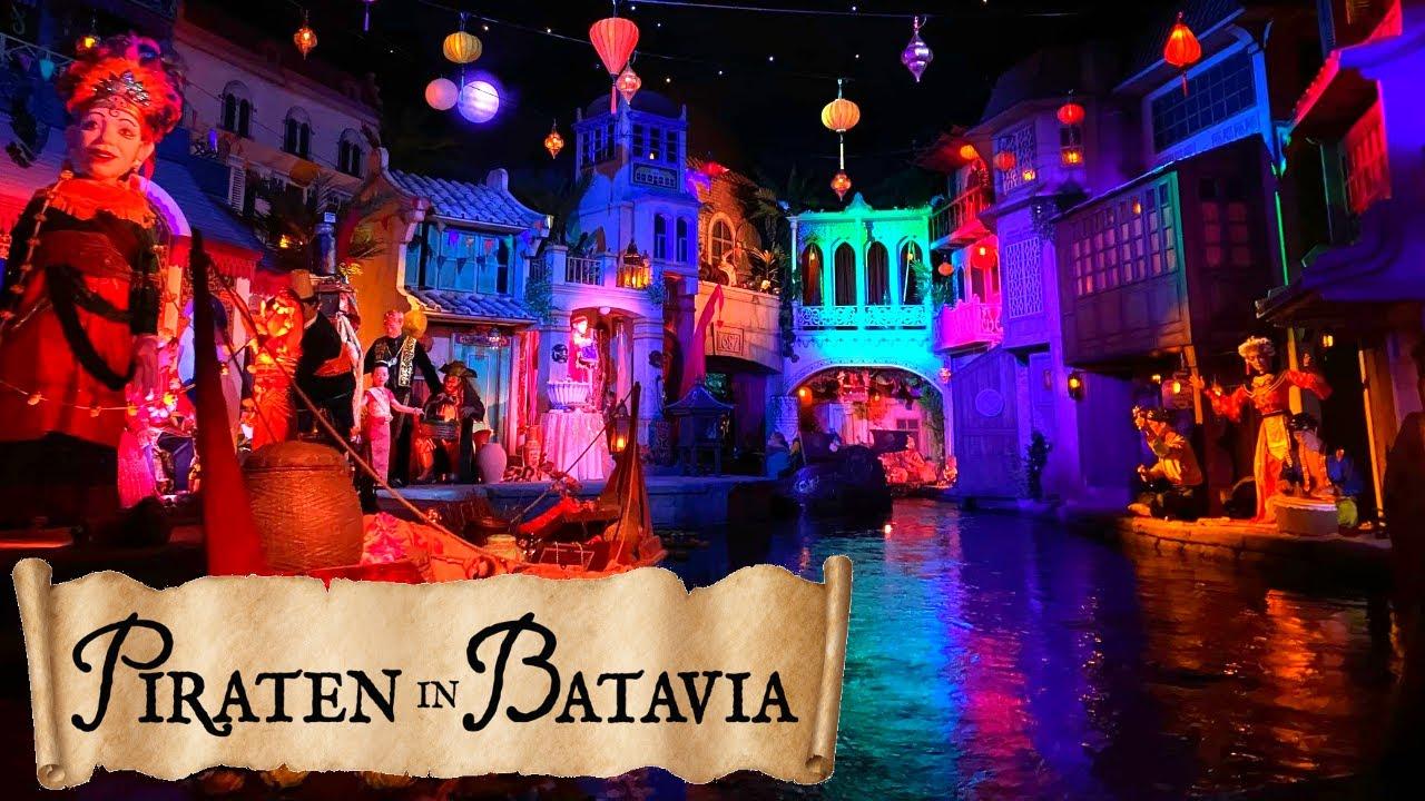 Piraten In Batavia On Ride POV - Europa Park