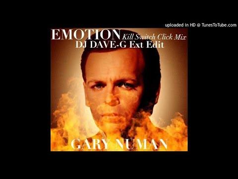 Gary Numan - Emotion (DJ DaveG ext edit of Kill switch Klick mix)