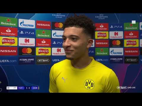 """I'm just happy to play in front of my family"" Jadon Sancho reflects on Wembley return Mp3"