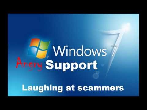 """Windows Support"" Scammer Gets Abusive"