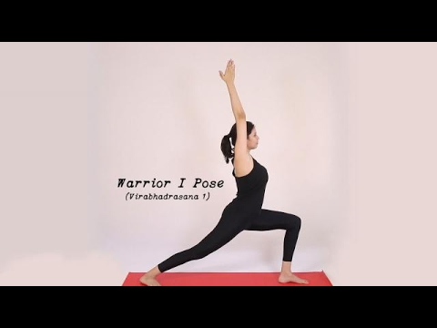 How to do Virabhadrasana 1 (Warrior 1 Pose)