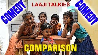 Comparison    kids comedy  