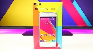 BLU Studio 5.0 HD LTE unboxing and first look