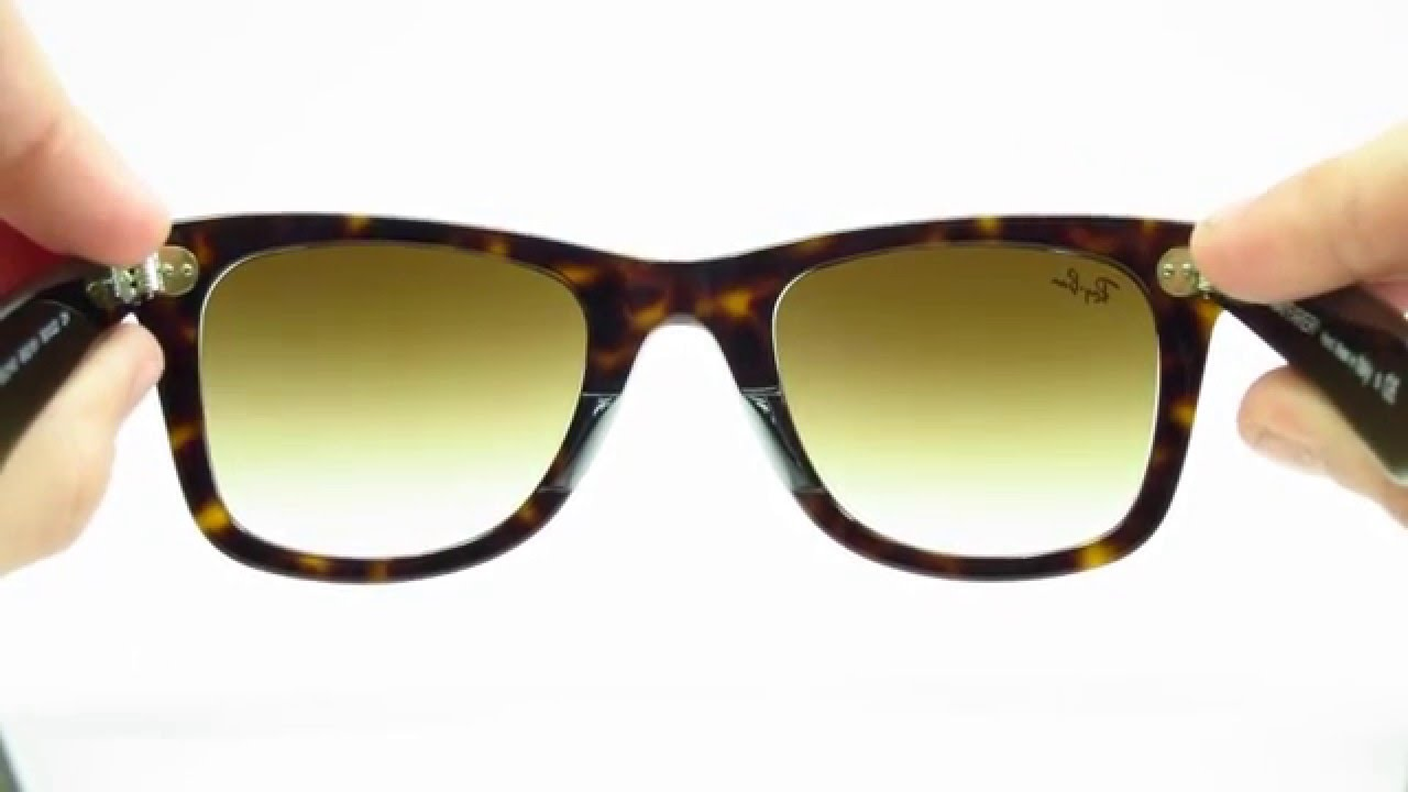 723e6bc4bbe Ray-Ban RB 2140 Tortoise Wayfarer 902 51 50mm - YouTube