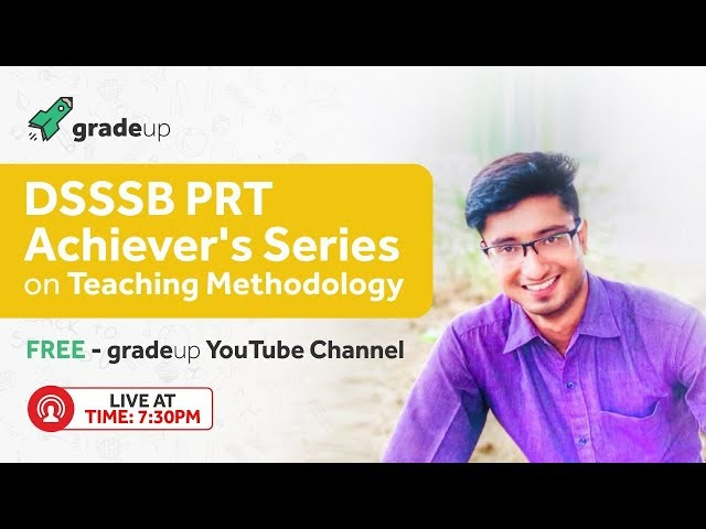DSSSB PRT Preparation | Teaching Methodology | Achiever's Series by Back to School Team