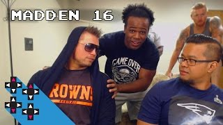 Round 1 of UpUpDownDown's Madden NFL 16 Gamer Gauntlet Tournament c...