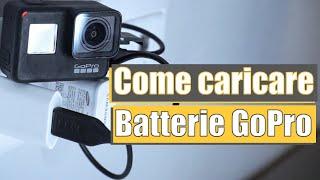 COME CARICARE le BATTERIE GoPro | Pillole di GoPro #41