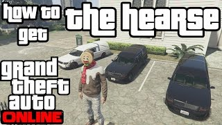 GTA 5 Online - How to get the hearse online (simple and easy method))