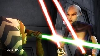[Ahsoka VS Asajj Ventress] Star Wars TCW Season 1 Episode 9 [HD]