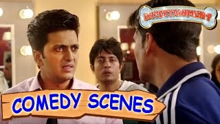 Akshay Kumar Quarelling With Ritesh Deshmukh- Comedy Scenes | Entertainment | Hindi Film