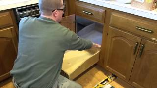 Corner Cabinet Pullout Solution