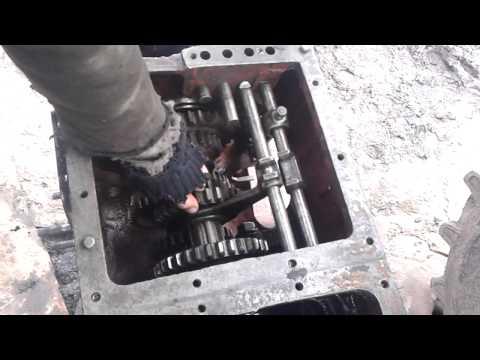 ремонт КПП трактора т 25 керосиновый ремонт - YouTube
