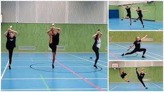 Tanz und Akrobatik Training 👯♀️ mit Jadranka / Luana / Ben und Haley 🤸♀️