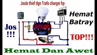 Video INVERTER 1,5volt - 5volt DC Ke 220volt AC  (Joule Thief) 100% JOSS download MP3, 3GP, MP4, WEBM, AVI, FLV Agustus 2018