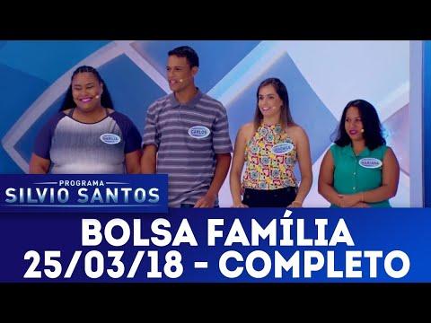 Bolsa Família - Completo | Programa Silvio Santos (25/03/18)