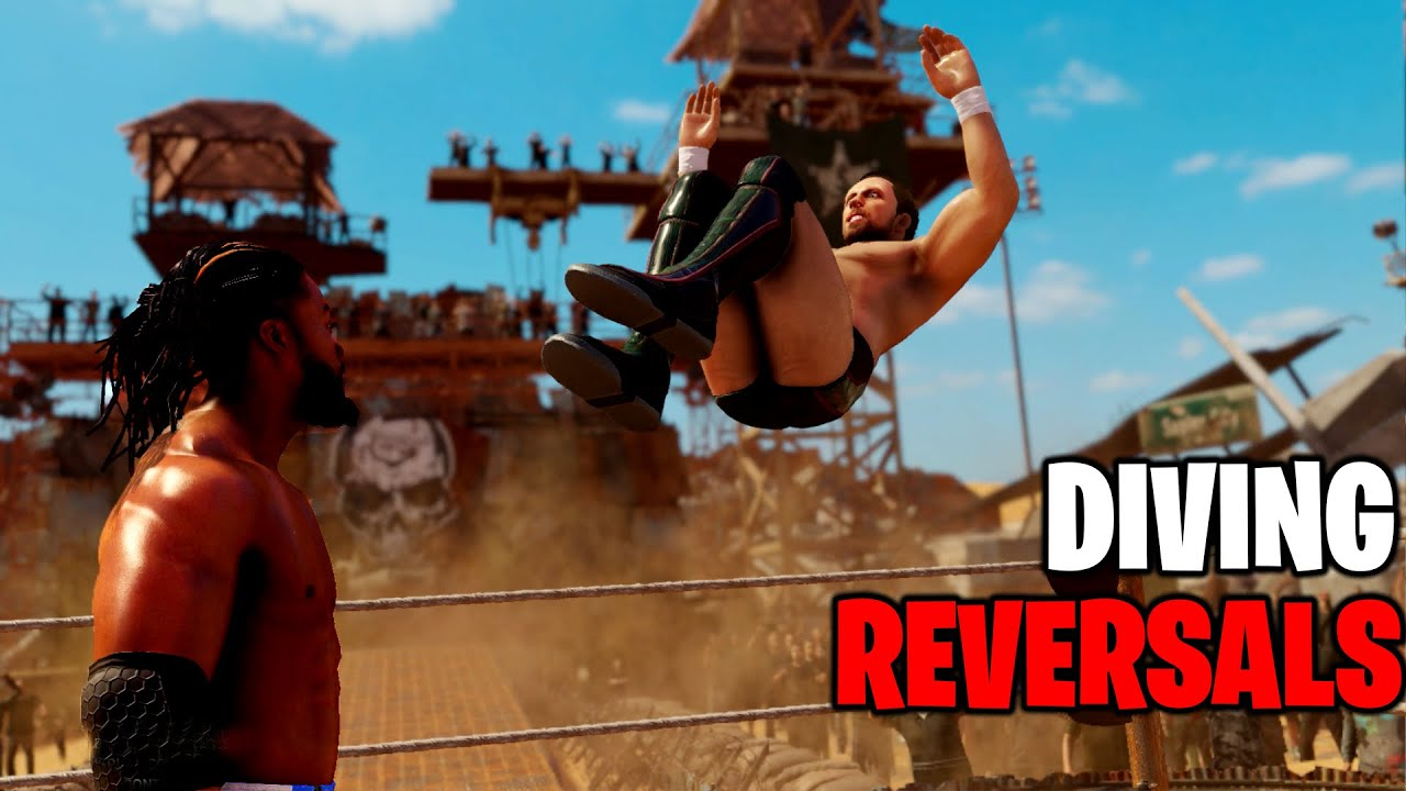 WWE 2K20 Diving Moves Reversals!