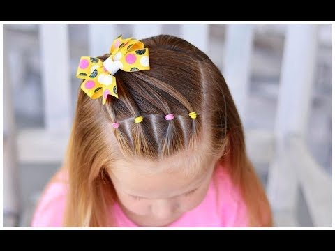 5 Minute Half Up Girl's Hairstyle