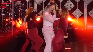 Gambar cover Sam Smith & Normani - Dancing With a Stranger (Live HD) - Jingle Ball 2019 - The Forum Los Angeles