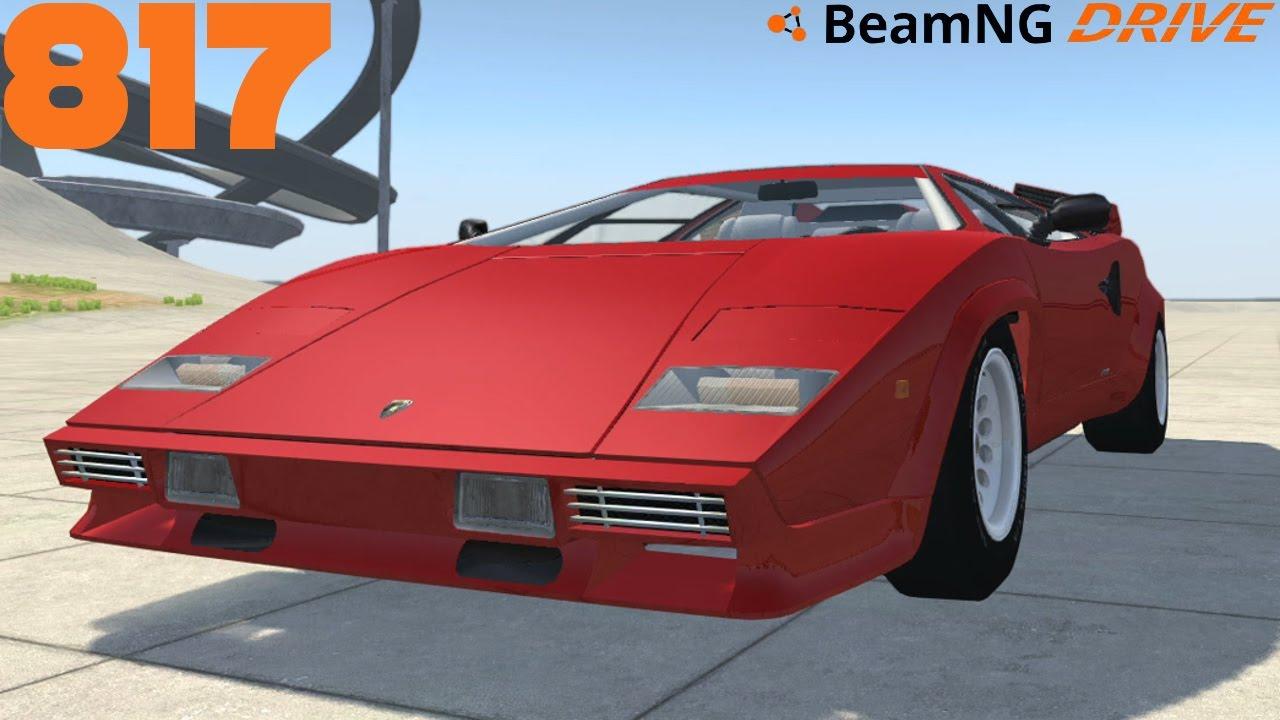 Beamng Drive 817 I Lamborghini Countach I I Let S Play Beamng Drive