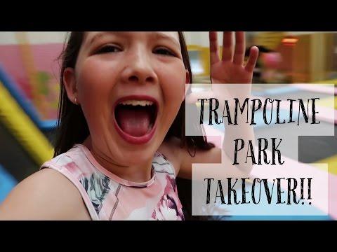 TRAMPOLINE PARK TAKEOVER!!