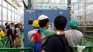【鐵道旅情】新幹線N700 先頭車研ぎロボット | JR東海 浜松工場 | 20170722