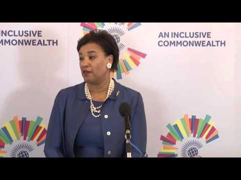 Rt Hon Patricia Scotland QC welcome address at the Commonwealth Secretariat