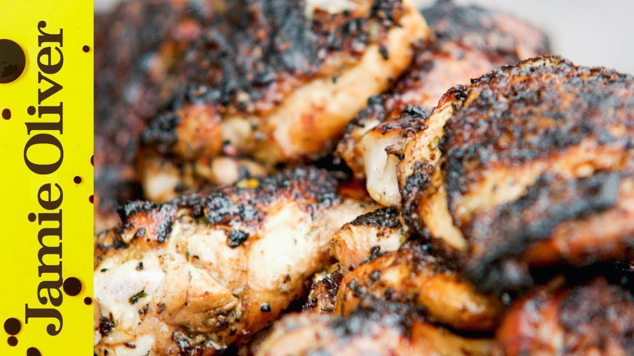 Jerk Chicken Video Jamie Oliver