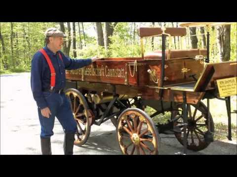 1896 Daimler Truck Replica