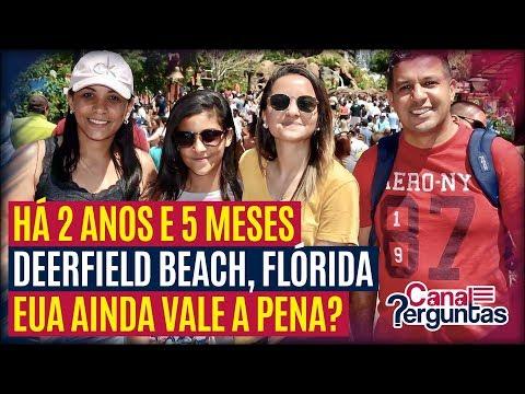 🔴[AO VIVO] Há 2 anos e 5 meses em Deerfield Beach, Flórida. Ainda vale a pena morar nos EUA? ✔