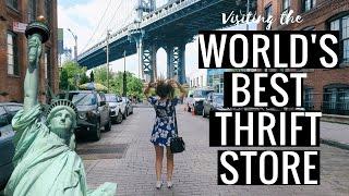 Gambar cover 24 HOURS IN NEW YORK | world's best thrift store