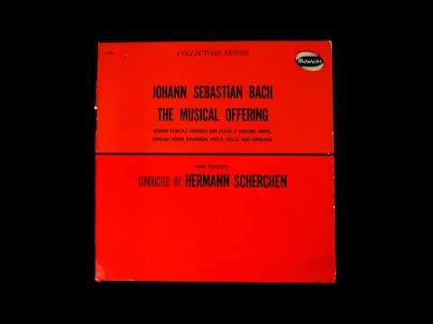 Bach: Musical Offering, Hermann Scherchen, Vienna 1950